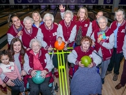 Residents bowled as care home sets up ten pin team