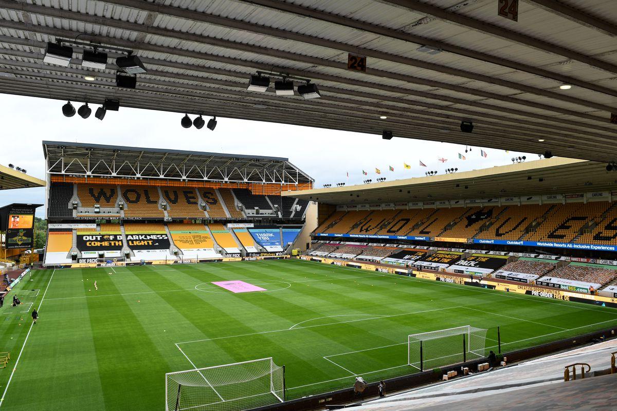 A general internal view of Molineux Stadium, home stadium of Wolverhampton Wanderers (AMA)