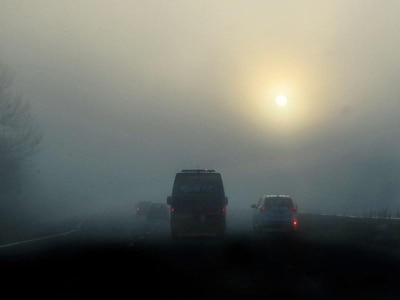 Motorists warned of dense fog before bank holiday weekend heatwave