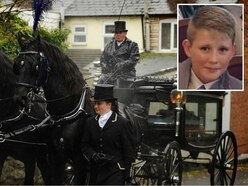 Christian Chandler: Crowds pay final respects at 13-year-old Telford schoolboy's funeral
