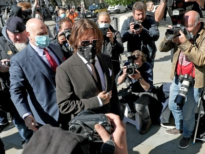 Johnny Depp to begin fourth day of evidence in libel case against The Sun