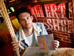 Rainbreakers singer Ben Edwards is preparing for the band's first gig back at Albert's Shed next month