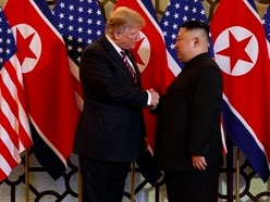 What was on the menu for Donald Trump and Kim Jong Un in Hanoi?