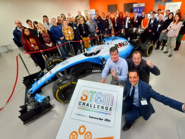 Meeting of minds at Shropshire Star STEM Challenge launch - with video