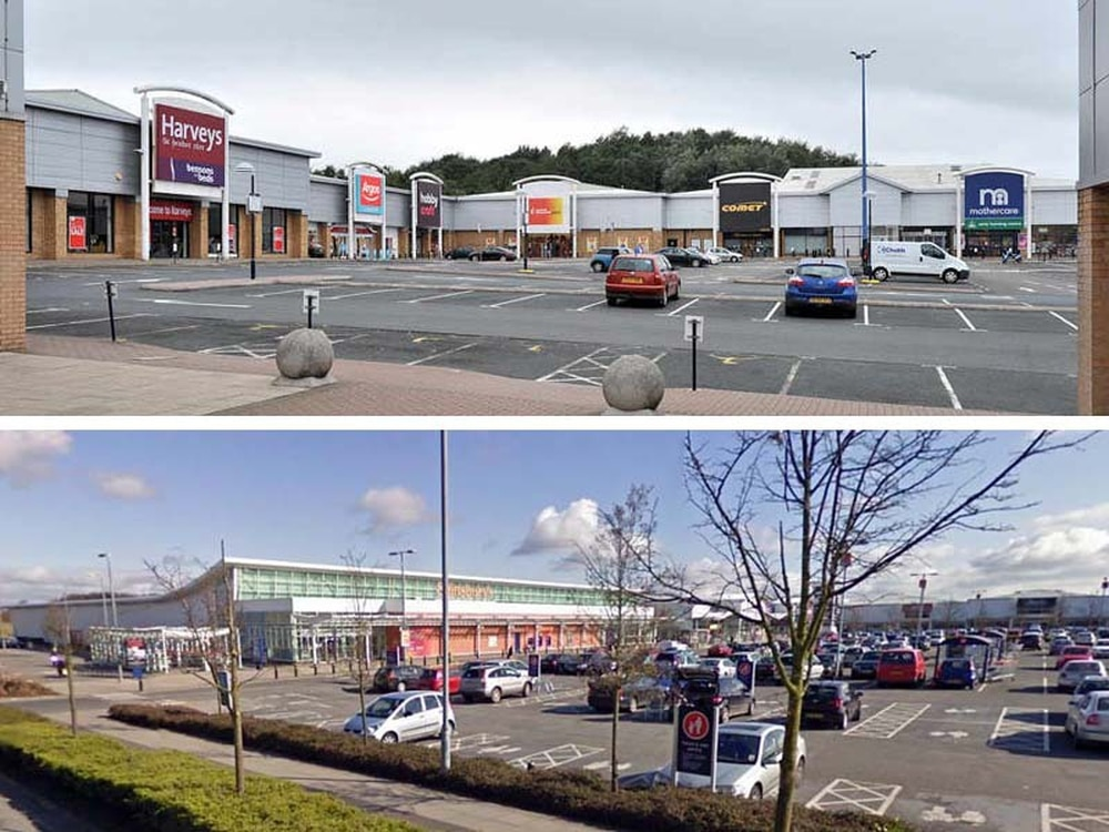 telford retail parks plunged into darkness after power cut. Black Bedroom Furniture Sets. Home Design Ideas