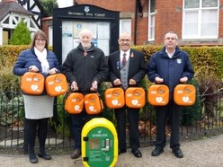 Life saving defibrillators installed in Shrewsbury