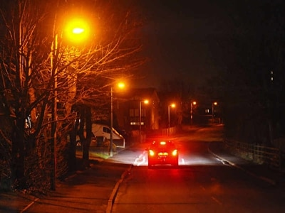 Repairs being carried out on Shawbury's street lights following review