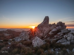 From sunrise to sunset - Dylan captures majesty of The Stiperstones