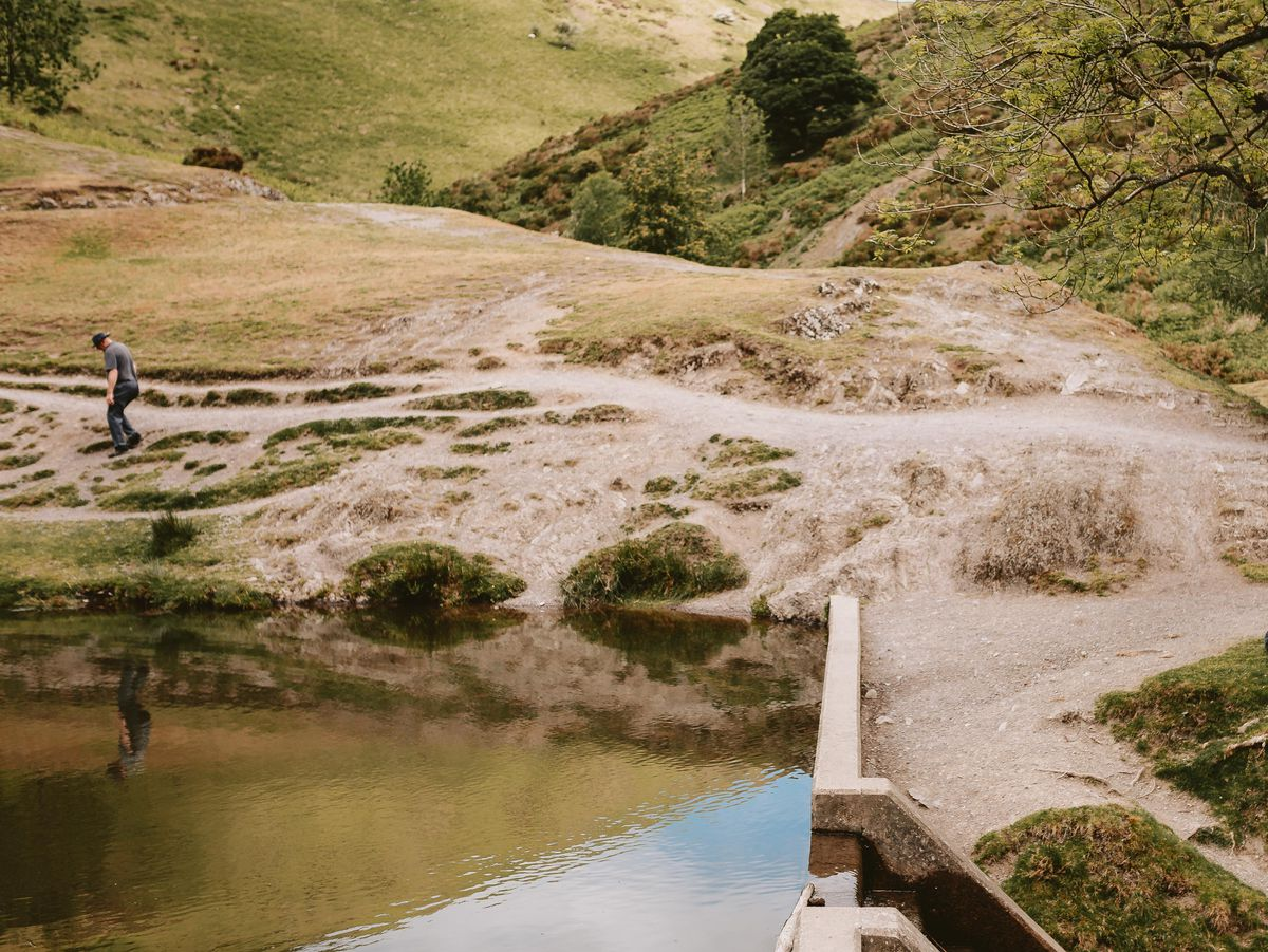 The National Trust's Carding Mill Valley is popular with well-behaved tourists too