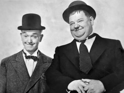 No messing as Stan and Ollie hit town