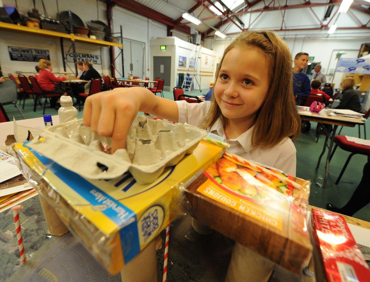 Callicia Hodges, 10, from Wrockwardine Wood Junior School