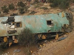 At least 36 killed after bus veers off cliff in Peru