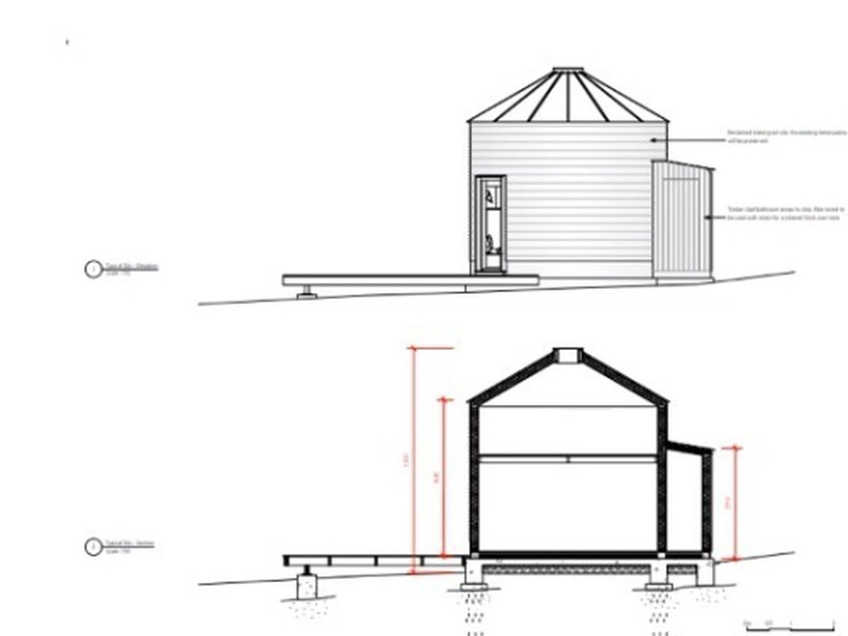 Plans for the silos