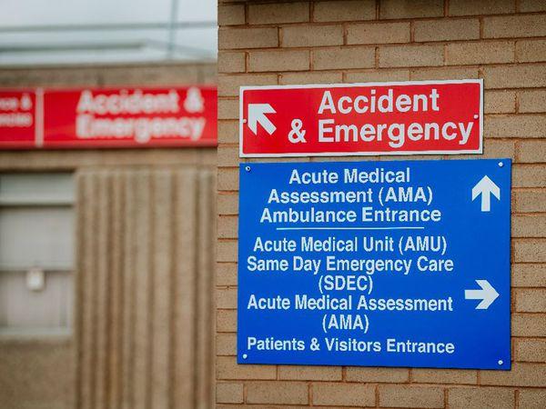Royal Shrewsbury Hospital A&E