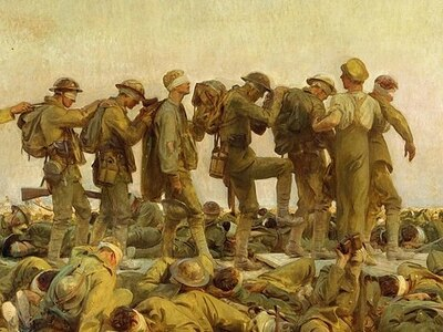 Peter Rhodes on the horror of gas warfare, the pessimism of today's youth and men portrayed as morons