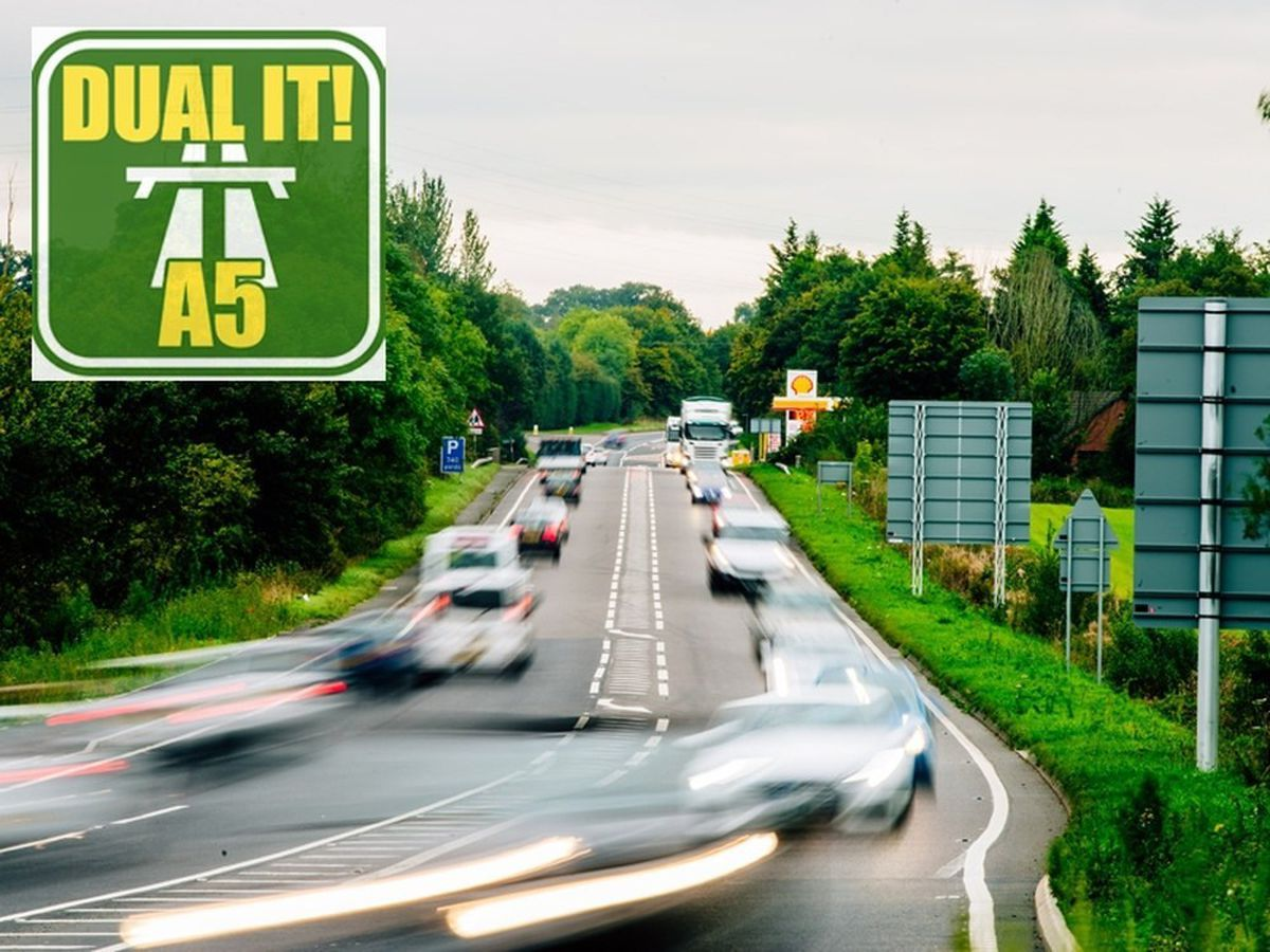 More than 5,000 people have signed a petition backed by the Shropshire Star to turn the section of the A5 north of Shrewsbury into a dual carriageway