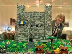 Lego everywhere at Shrewsbury awards - with pictures