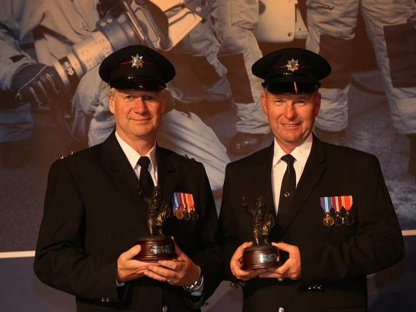 Long service awards for firefighters