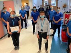 Shropshire radiographer Louise hailed 'health hero' for supporting colleagues