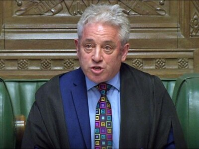 Bercow sparks Commons uproar after aiming 'insult' at Tory MP