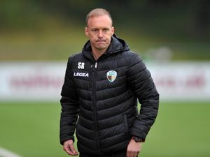 NORTH COPYRIGHT MIKE SHERIDAN TNS boss Scott Ruscoe during the Europa League qualifying fixture between TNS (The New Saints)(WAL) and MSK Zilina (SVK) at Park Hall, Oswestry on Thursday, August 27, 2020. ..Picture credit: Mike Sheridan/Ultrapress..MS202021-021.