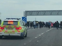 Black Lives Matters protesters shut M6 motorway