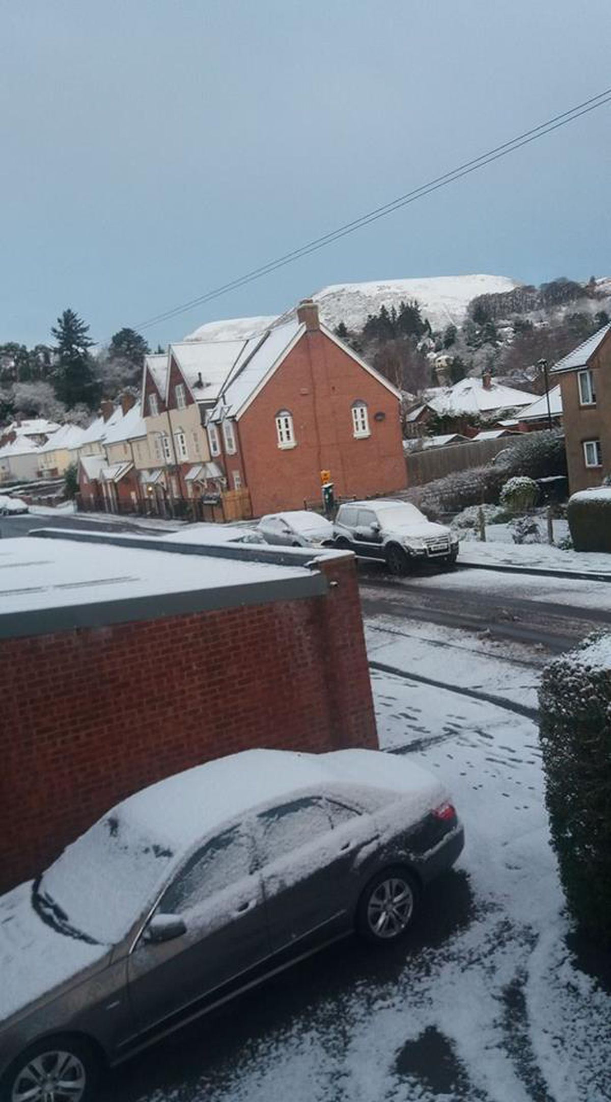 Michael Georgiou sent us this picture from Church Stretton