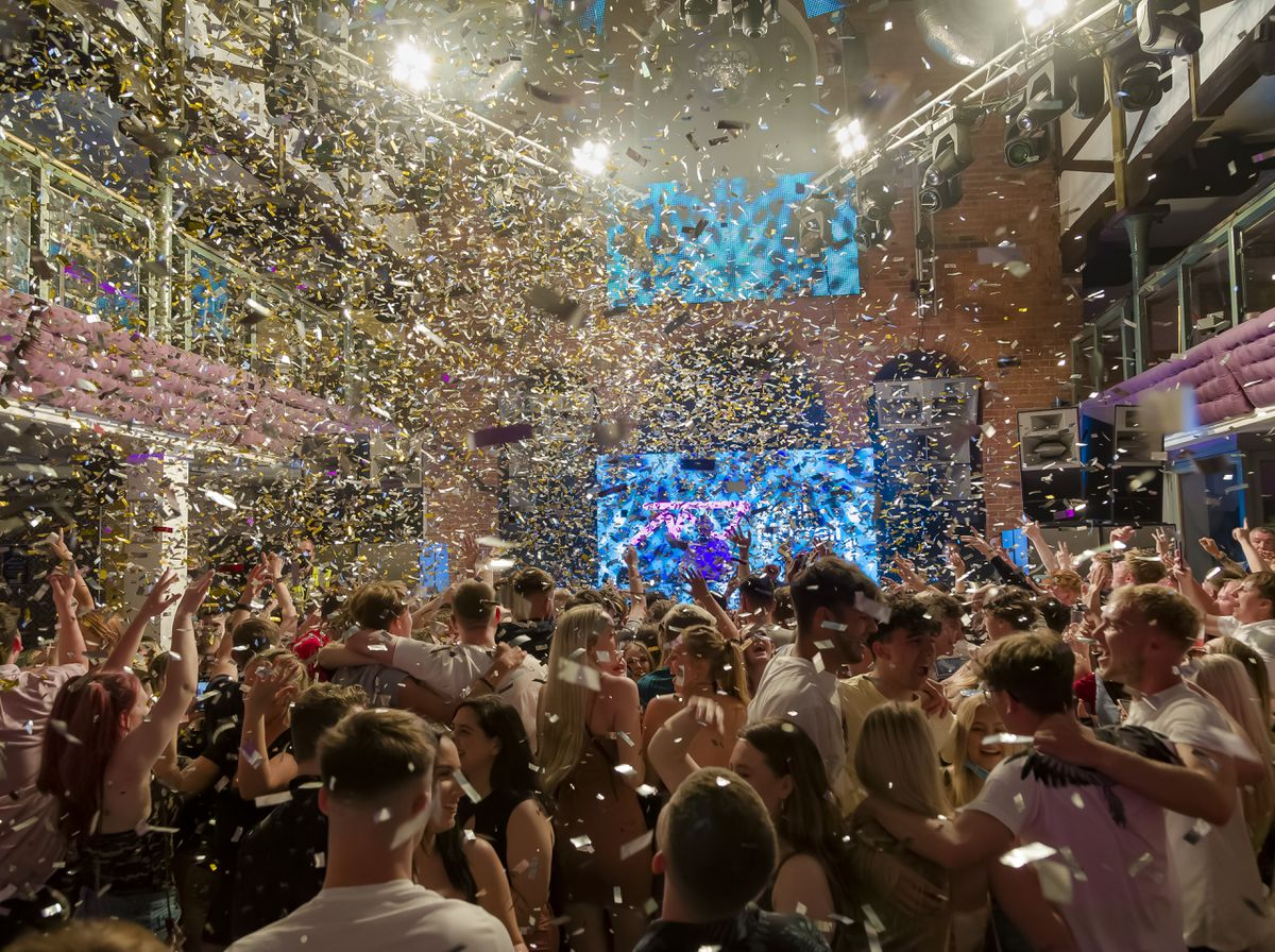 The Buttermarket's Unlock party. Photo: Clive Padden.