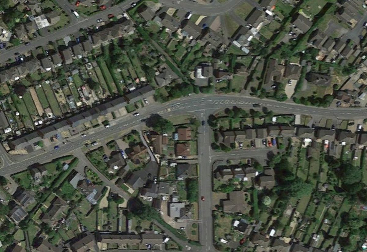 Stafford Road (from west to east) is one of the main entrances and exits to Newport. Photo: Google Maps