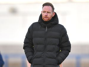 Telford boss Gavin Cowan.