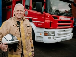 Shropshire firefighter Phil steps down after 43 years