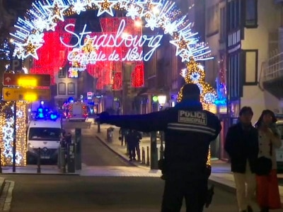 One dead and six injured after shooting at Strasbourg Christmas market