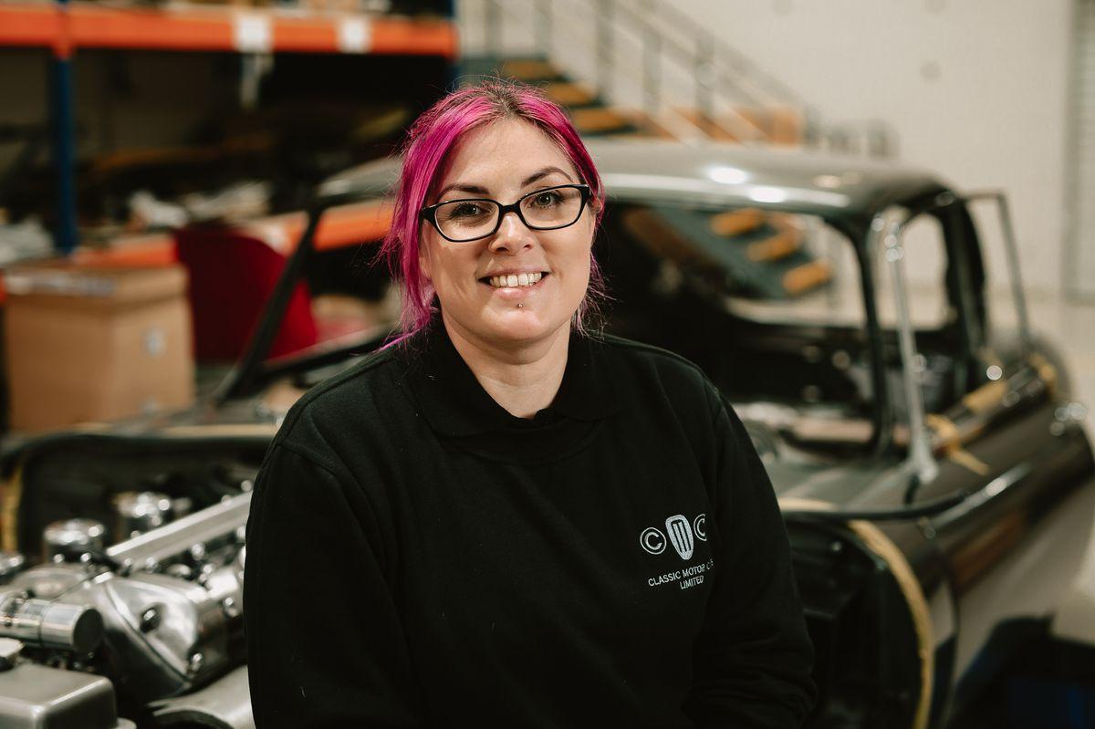Liz Collings from Classic Motor Car in Bridgnorth
