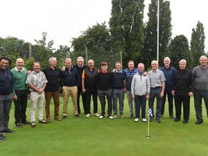 Wolves Former Players Association charity golf day at Oxley Golf Course.