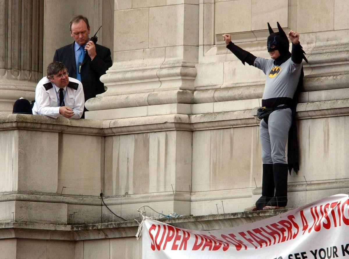 The stunt at Buckingham Palace created headlines across the world