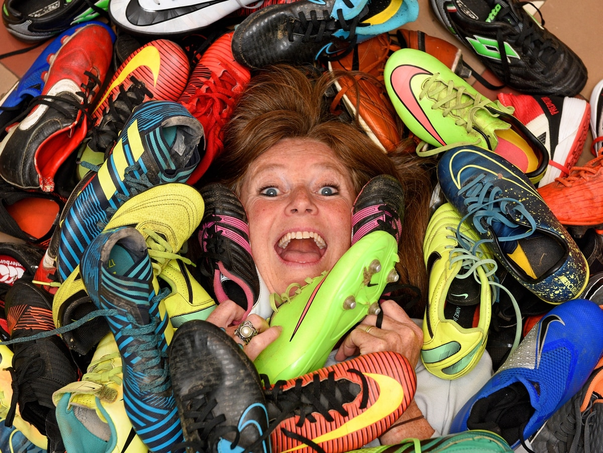 'Swap shop' for football boots