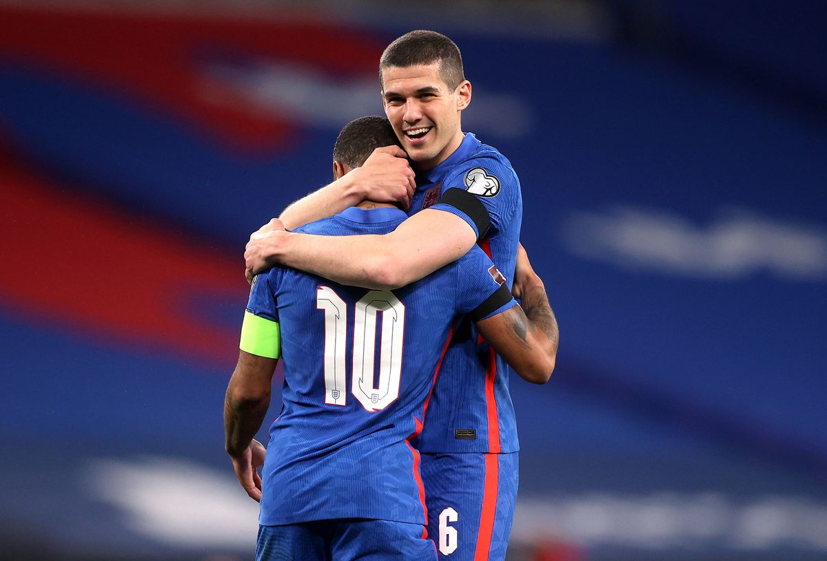Conor Coady got another England cap (PA)