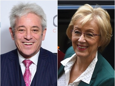 John Bercow reignites rift with Andrea Leadsom