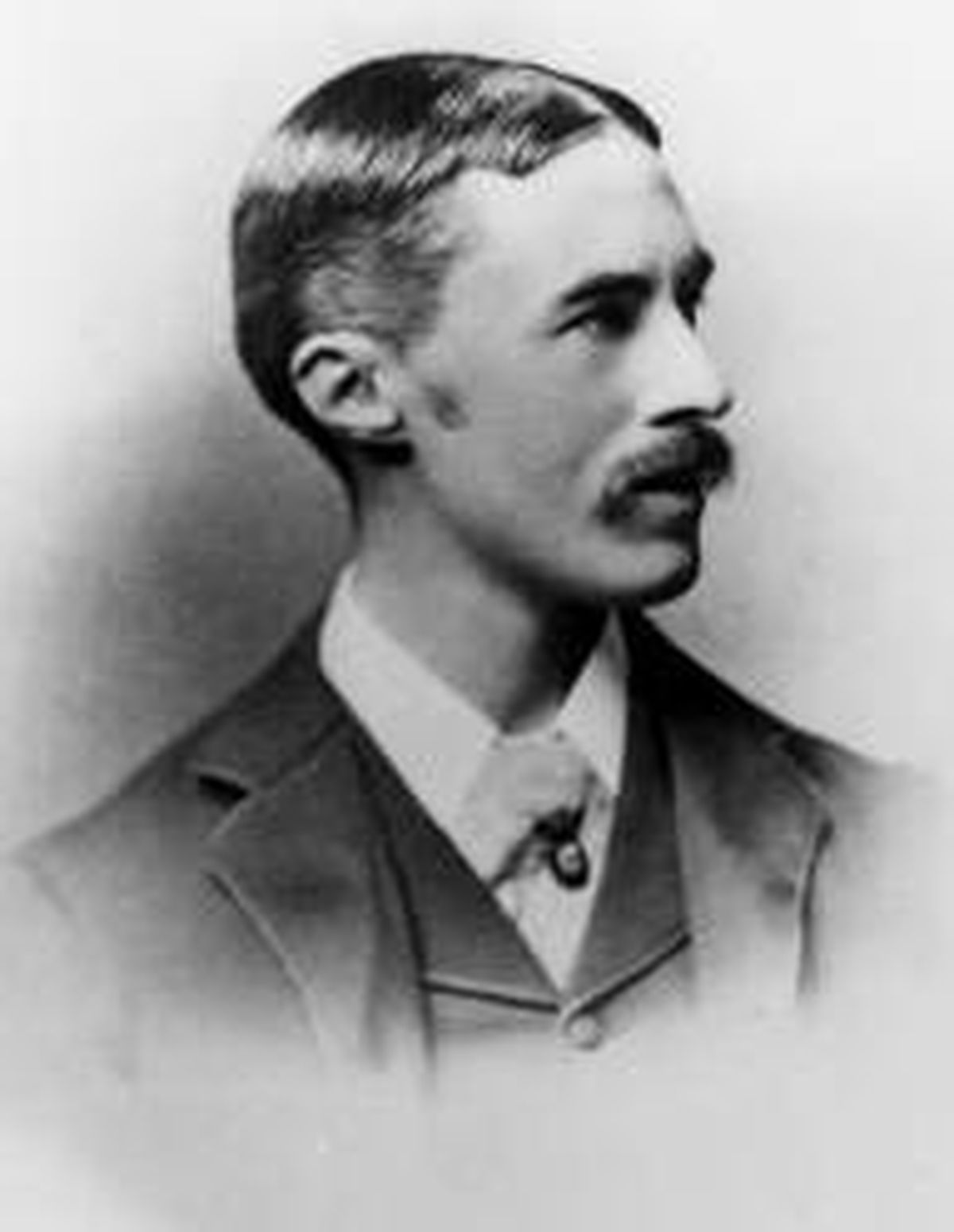 Alfred Edward Housman borrowed a traditional rhyme.