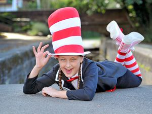 Beatrice Baker, is a finalist in Telford's Got Talent, after impressing the judges with her song from The Cat in The Hat