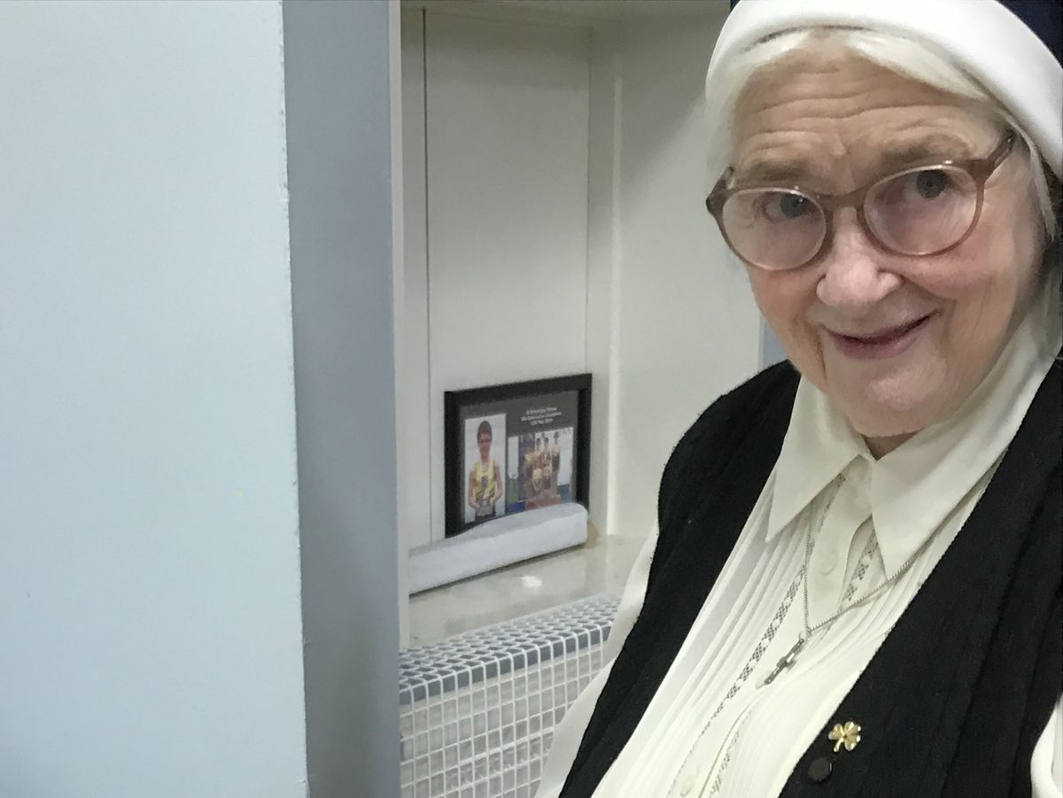 Sister Felicity has retired from St Winefride's Independent School