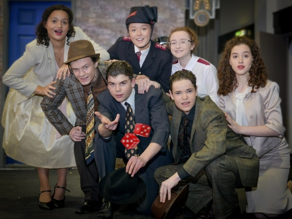 Budding actors take to the Shropshire stage in Guys and Dolls