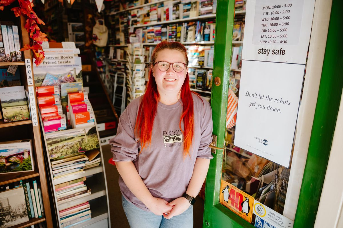 Meg Price from Ironbridge Book Shop