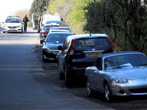 Police hand out notices about essential travel at The Wrekin