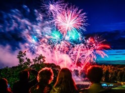 PICTURES: Fireworks spectacular ends Shrewsbury Flower Show