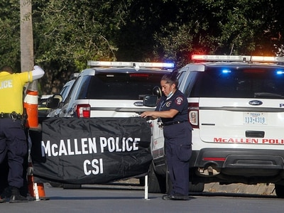Two police killed in Texas border town shooting