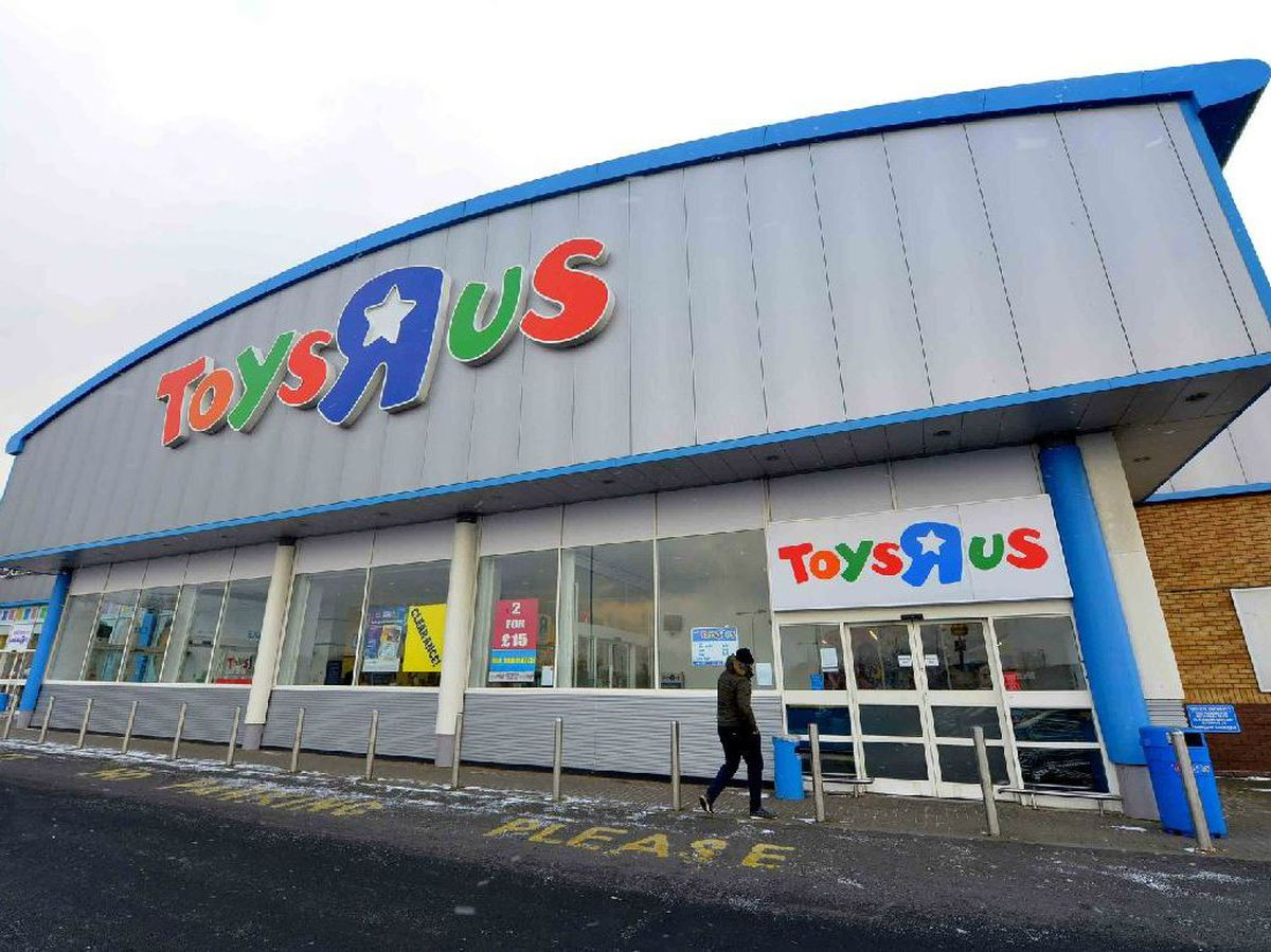 Toys R Us stores around the country were forced to shut up shop