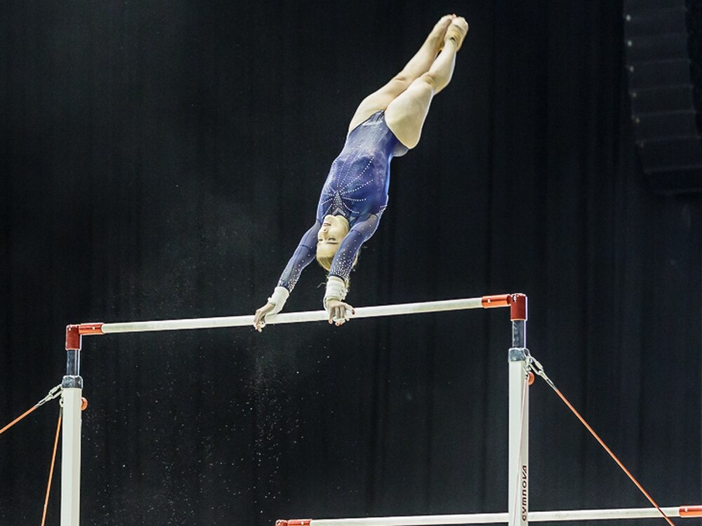 Telford gymnast, 17, wins bronze at women's World Cup at Midland arena - in pictures and video