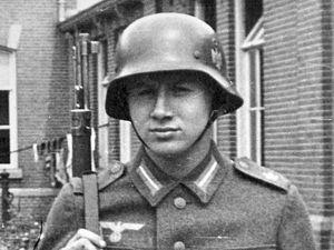 Heinrich Elfner training in Assen, Holland, summer 1942