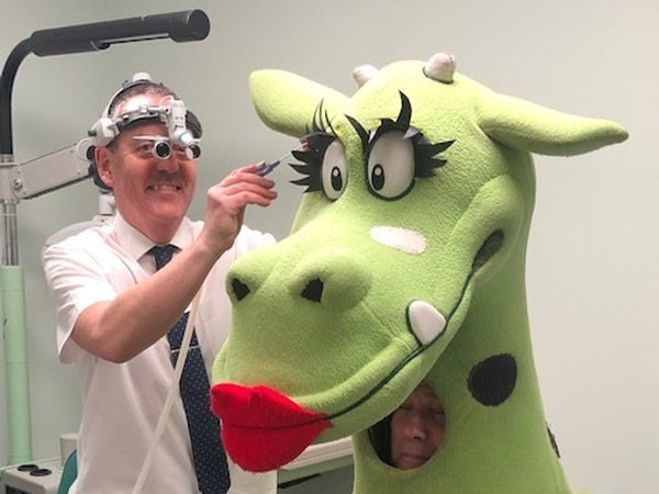 Bridgnorth's Puff the Dragon launches new hearing aid for charity